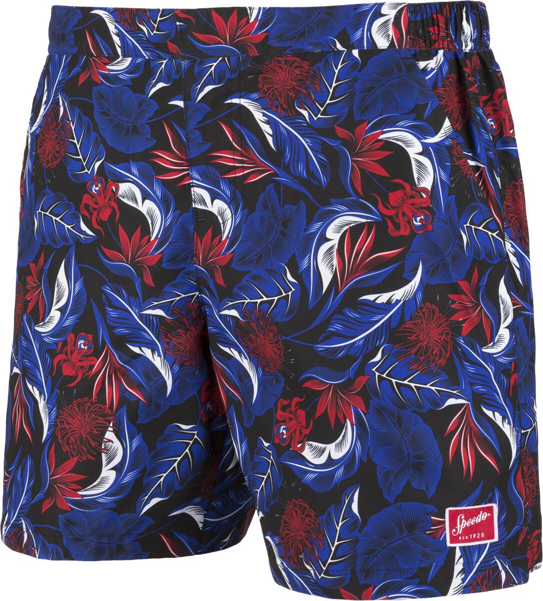 Zwembroek Blauw Heren.Speedo Vintage Paradise 16 Zwembroek Heren Rood Blauw L Online